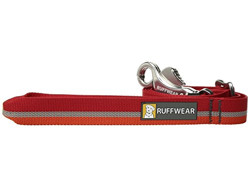 Ruffwear Convertible Dog Lead, Clips Around Waist for Easy Transport,  Breeds, Adjustable Length: 76 2-121 9 cm (30-48 in), Width: 25 mm (1 in),