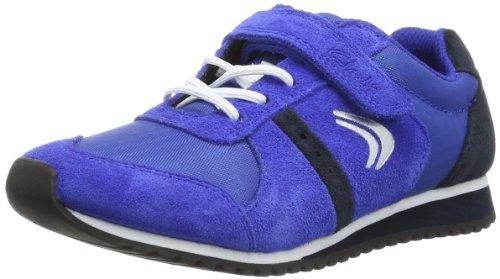 Clarks Super Jog Inf 203572987 Jungen Sneaker Blau (Blue Combi)