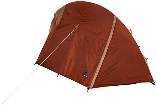 10T Camping-Zelt Little Bighorn 2 Kuppelzelt mit Schlafkabine für 2 Person Outdoor Trekkingzelt mit 2 Eingängen, Einbogenzelt mit eingenähter Kabinen-Bodenwanne, wasserdicht mit 5000mm Wassersäule