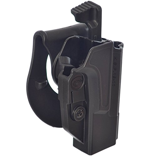 ORPAZ Defense Level 2 retention Tactical Thmub release safety Holster, Tention adjustment, Rotating 360 ROTO paddle for All 1911 with / without Picatinny Rail - Colt, Sig, Kimber, S&W, Taurus, Ruger and more -