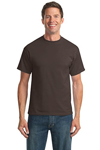 Port & Company® - Core Blend Tee. PC55 Brown M