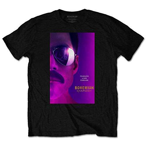 b5874545cba49 Queen Officially Licensed - T-Shirt Camiseta T Shirt Freddie Mercury Rami  Malek Bohemian Rhapsody