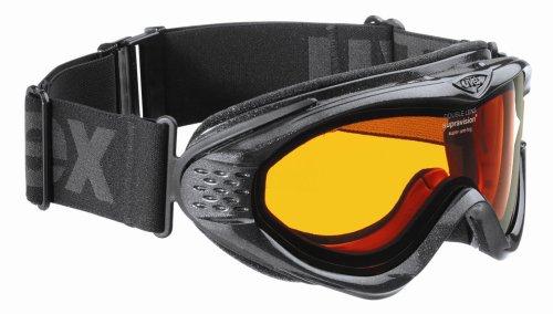 Uvex Skibrille Onyx, One Size schwarz schwarz Größe 1