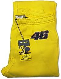 Valentino Rossi para hombre amarillo pantalón de chándal gimnasio Jog), hombre, amarillo, extra-large
