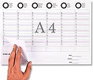 Planner Settimanale Scrivania - Calendario da Tavolo 2021 - Formato A4- Weekly Planner - Planning Settimanale-