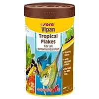 Sera Vipan Flakes Food for Tropical Freshwater Fish in Community Aquarium - 250ML (2.1oz / 60gms)