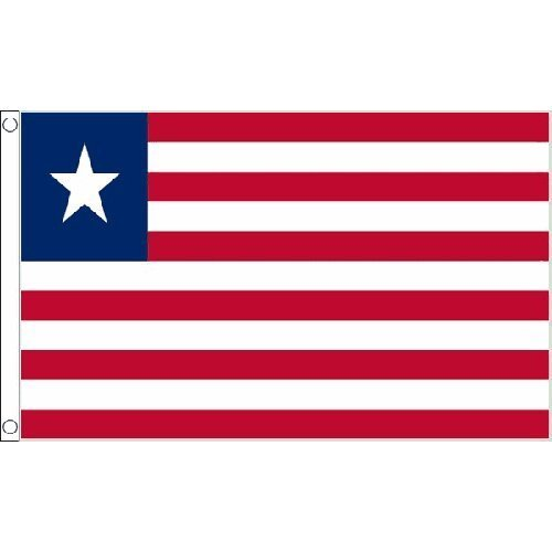 Liberia Flag 5Ft X 3Ft Africa African Country Banner With 2 Eyelets New by Liberia -