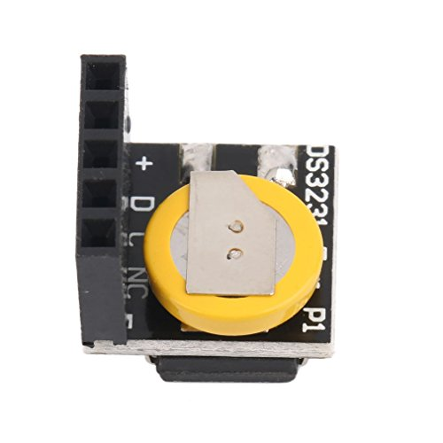 GreceMonday DS3231 Echtzeituhr-Modul für Arduino 3,3V / 5V Real Time Clock Module mit Batterie für Arduino für Himbeere