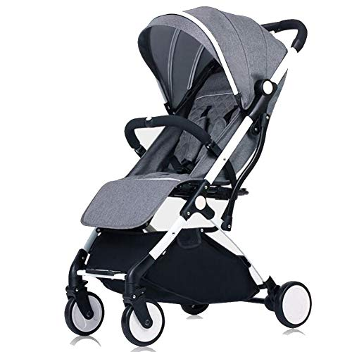 Wp.bewa Komfortable Kinderwagen Für Ihr Kind Mit Riesigem Einkaufskorb,Faltbarem Kinderwagenaufsatz Für Neugeborene Für Babys & Kleinkinder Bis 0-3 Jahre,A