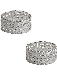Pinkcityretailer German Silver Toe Ring For Women
