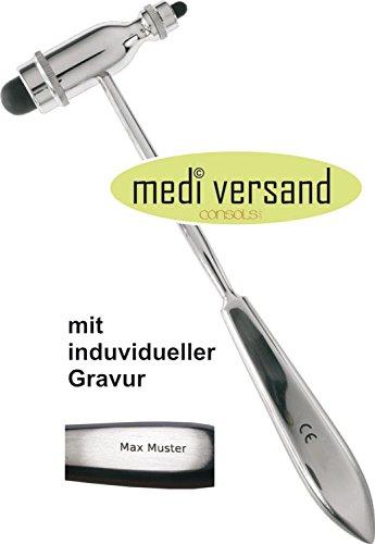 Troemner Reflex Hammers (Reflexhammer nach Trömner mit Gravur)