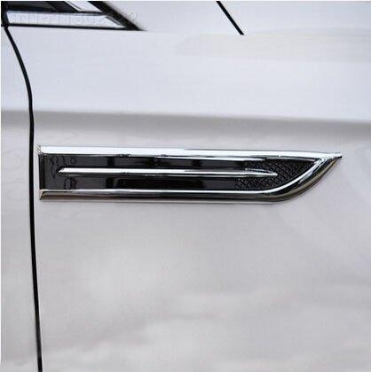 sypure (TM) Nouveau style. 2pcs/lot ABS chromé Badge Décoration Sport pour Focus 23Focus Fiesta MONDEO ecosport Hyundai IX35ix45