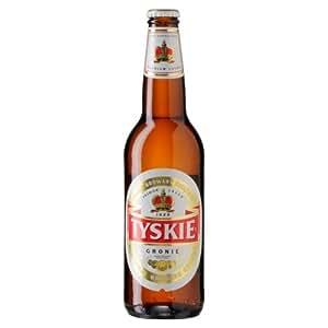 Tyskie - Premium Polish Lager Beer - 20 x 500 ml - 5.6% ABV