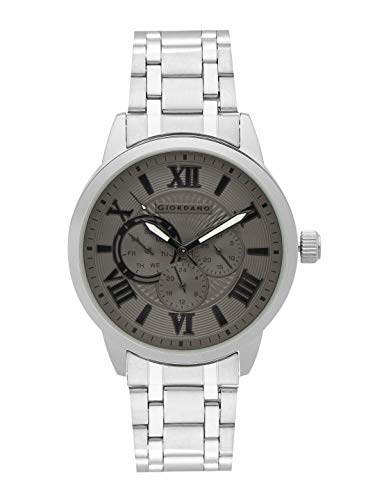 Giordano Analog Grey Dial Men's Watch - A1077-11