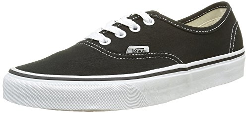 Vans Authentic Sneaker, Unisex Adulto, Nero (black/white), 44