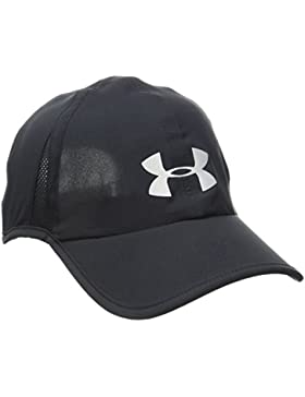 Under Armour Men's Shadow Cap 4.0 Gorra, Hombre, Negro (001), One Size