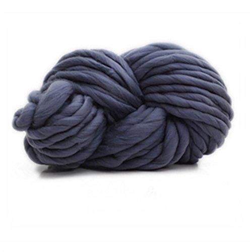Albeey Super-Chunky Garn weicher Wolle Sperrige Yarn Spinning Hand Knitting dickes Acrylgarn, Strickwolle für Strick- / Häkelarbeiten wie Pullover / Schals / Decken (9#) - Sperrige Pullover