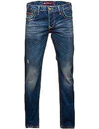 Cipo & Baxx Herren Jeans Hose C-1036 Blau