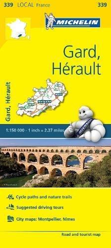 Mapa Local Gard, Hérault (Mapas Local Michelin) por Vv.Aa.