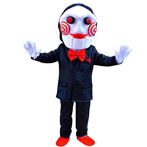 Aszhdfihas Cartoon Puppe Geist Gesicht Teufel Puppe Benutzerdefinierte Ereignis Propaganda Wear Doll Kostüm Deko-Kranz (Größe : ()