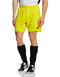 Adidas Men Parma 16 Shorts - Yellowblack, Large