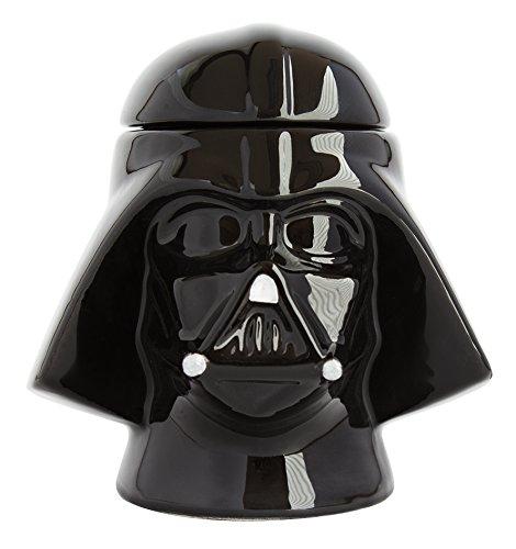 Star Wars 21825 Darth Vader Eierbecher mit Salzstreuer in Keramik-in Geschenkverpackung, 8 x 8 x 10 cm