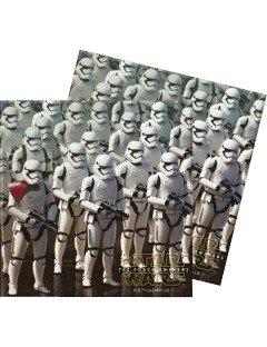 WARS VII * für Kindergeburtstag und Motto-Party // Set Napkins Kinder Einweg Geburtstag Motto The Force Awakens Lucasfilm Darth Vader Yoda Krieg der Sterne Disney Episode Klonkrieger R2-D2 C-3PO (R2d2 Kostüm Kind)
