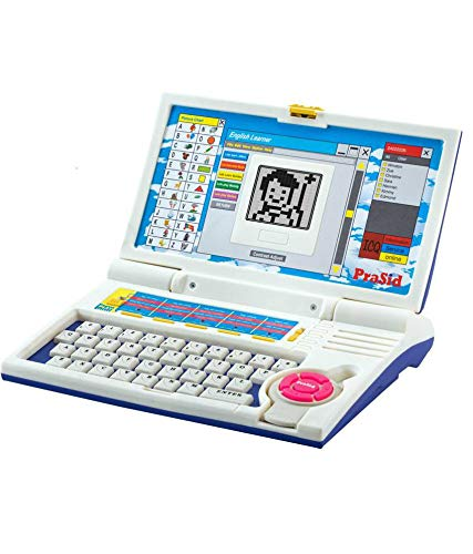 RUHAN ENTERPRISE Kids English Learner Laptop with 20 Activities