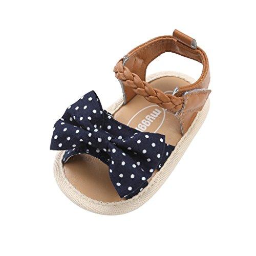 Zapatos para bebé niñas, Auxma Bebé Prewalker Zapatos Sandalias de Bebé-Niñas,Primeros...