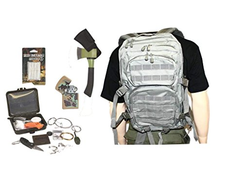 AOS-Outdoor Survival Set Trekking Outdoor Set Foliage -