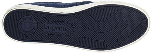 Bugatti K48686j, Scarpe da Ginnastica Basse Uomo Blu (Jeans 455)