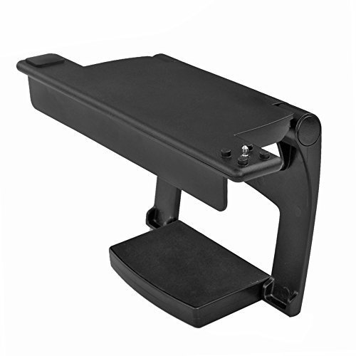 TNP PS4 Camera Mount - 180 Degree Swivel Adjustable TV Monitor Mounting Clip Mount Stand Holder Bracket for Sony PlayStation 4 PS4 Camera Sensor [Playstation 4] by TNP Products (Für Ps4 Tv Sony)