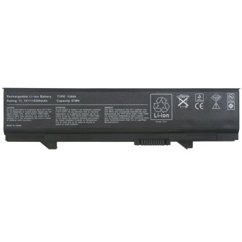Morewer(TM) Nuovo Laptop Batteria Imballare per Dell 0RM668 312-0762 312-0769 312-0902 451-10616 451-10617 KM742 KM769 KM771 WU841 Series Laptop Batteria [ Li-ion 11.1V 6-cell 5200mAh ]