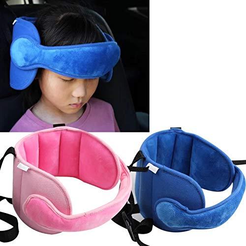 Carriea Kleinkind Autositz Hals Relief und Kopf Unterstützung, Baby Head Fixing Brace Kind Auto Sicherheitssitz Kopfstütze Schlafhilfe Gurtband Band.