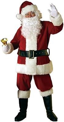 Rubie's 2369 - Disfraz de Papá Noel para hombre