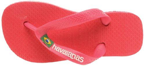 Havaianas Unisex-Erwachsene Brasil Logo Zehentrenner Rot 0020