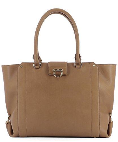 salvatore-ferragamo-womens-0661532-brown-leather-tote