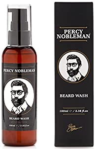 Percy Nobleman Beard Wash A Natural 95% Organic Soap/Shampoo & Conditioner for Men