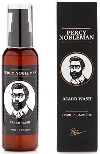 Percy Nobleman Beard Wash A Natural 95% Organic Soap/Shampoo & Conditioner for Men