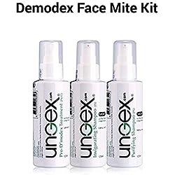 Ungex | Tratamiento Demodex | Enrojecimiento Del Acné | Rostro y Cuerpo Humano | Kit Esencial A2
