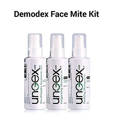 Demodex Face Mite Kit - Human Face & Body | Natural Herbal Treatment |  Innovative Technology | 3 In 1 Solution | Relief From Inflammation |  Eradicates