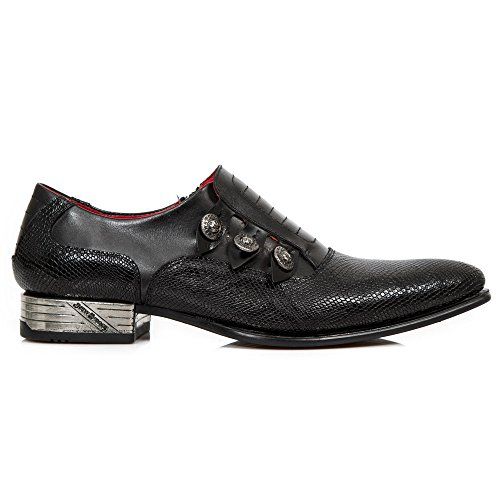 New Rock M Nw152 S1, Mocassins Homme black