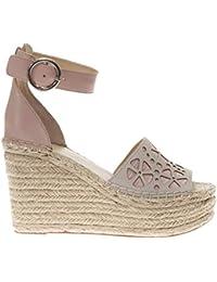 Guess Kalee/Zeppa (Wedge)/Suede, Zapatos con Tacon y Correa de