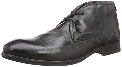H Shoes Lydon, Bottines Chukka à Tige Courte Homme Noir - Noir