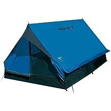 High Peak Minipack Tenda, Unisex – Adulto, Blu/Grigio, 190 x 120 x 95 cm