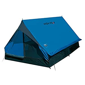 high peak unisex's minipack tents, blue/grey, one size