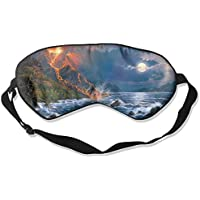 Ocean Waves Volcanic Explosion Oil Paintings 99% Eyeshade Blinders Sleeping Eye Patch Eye Mask Blindfold For Travel... preisvergleich bei billige-tabletten.eu