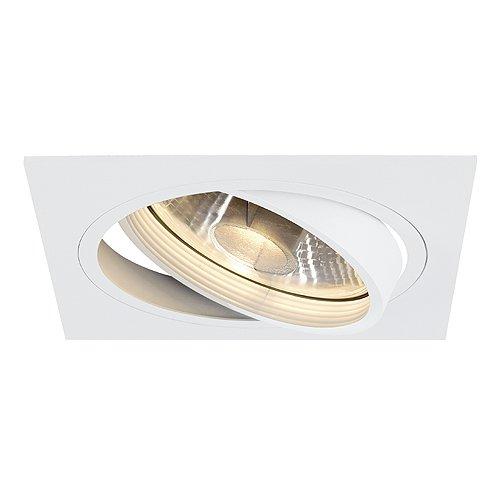 SLV NEW TRIA 1 Leuchte Indoor-Lampe Aluminium Weiß Lampe innen, Innen-Lampe (Ist Deckenfluter Fertig)