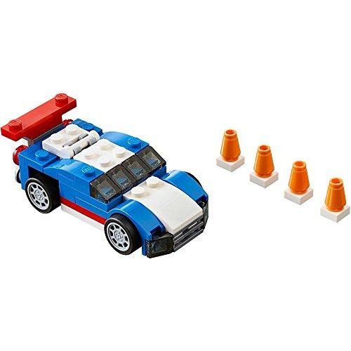 LEGO-Deportivo-de-color-azul-31027