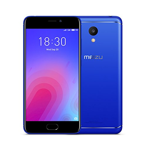 Meizu M6 - Smartphone DE 5.2' (RAM de 3 GB, Memoria Interna de 3 GB, Camara DE 13 MP, Android) Color Azul